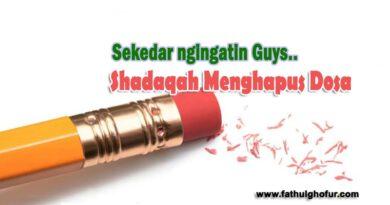 Shadaqah-Menghapus-Dosa