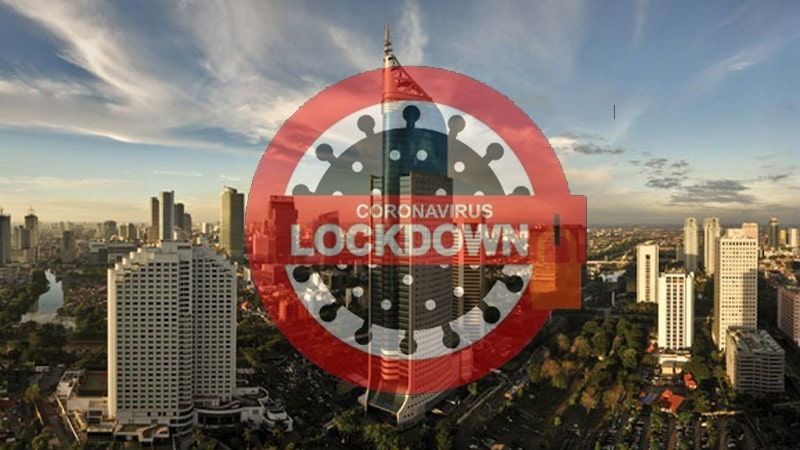 Jakarta-Indonesia-Lockdown