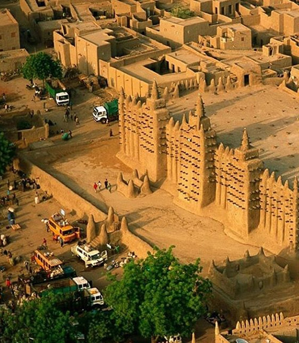 Masjid-Agung-Djenne-Mali-Afrika-Utara-10