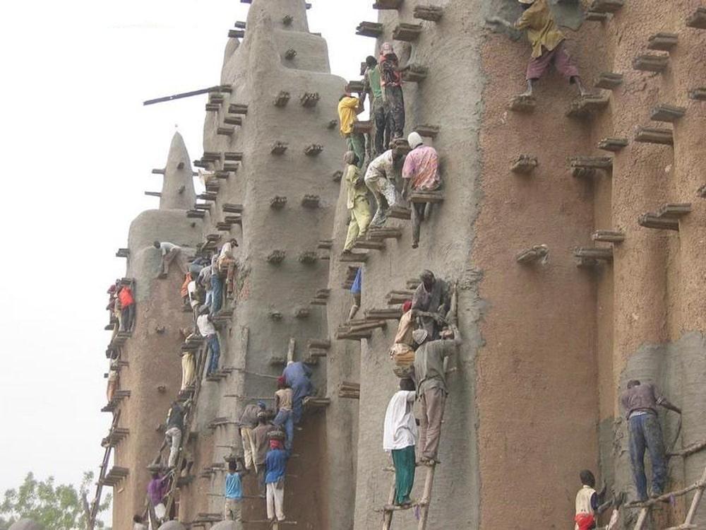 Masjid-Agung-Djenne-Mali-Afrika-Utara-6