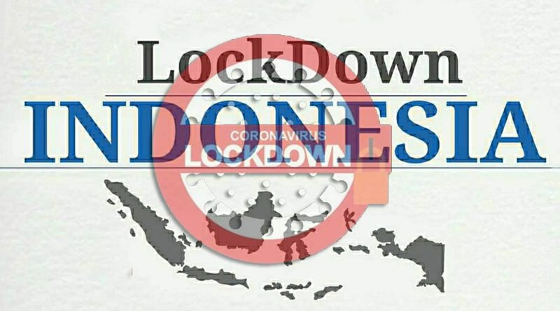 RI Disarankan Lockdown