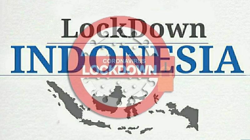 RI Disarankan Lockdown
