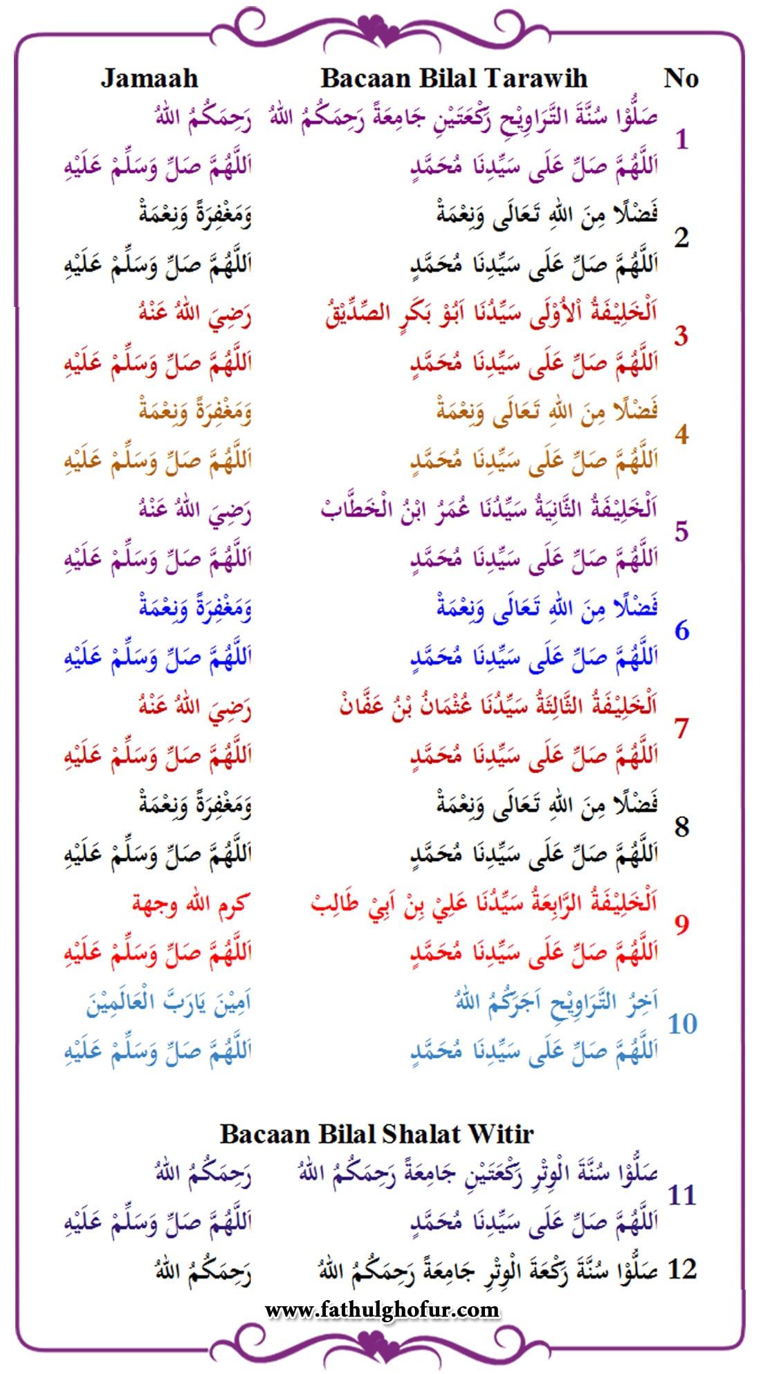 Bacaan-Bilal-dan-Jamaah-Sholat-Tarawih