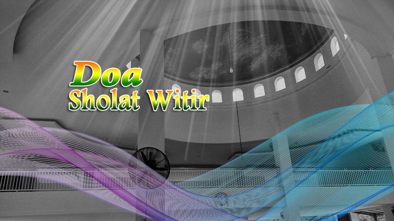 Doa-Sholat-Witir