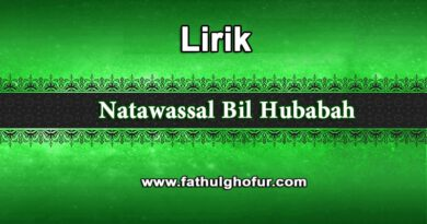 Lirik-Natawassal-Bil-Hubabah
