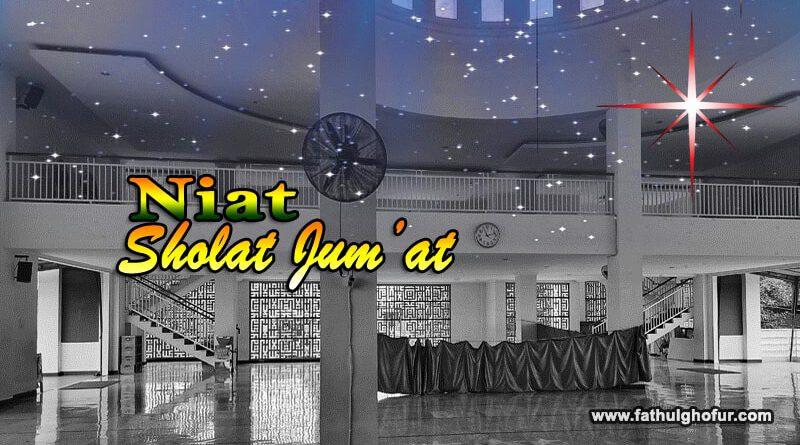 Niat-Sholat-Jum'at