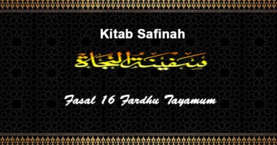 Fasal-16-Fardhu-Tayamum