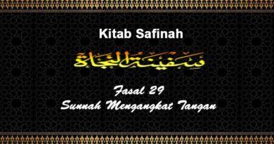 Fasal-29-Sunnah-Mengangkat-Tangan-Kitab-Safinah
