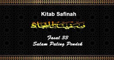 Fasal-33-Salam-Paling-Pendek-Safinah