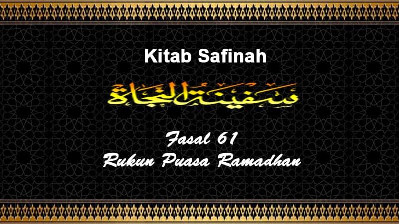 Fasal-61-Rukun-Puasa-Ramadhan