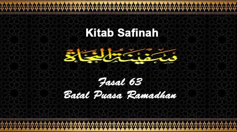 Fasal-63-Batal-Puasa-Ramadhan
