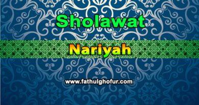 Sholawat-Nariyah